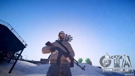 O novo AK-47 para GTA 4