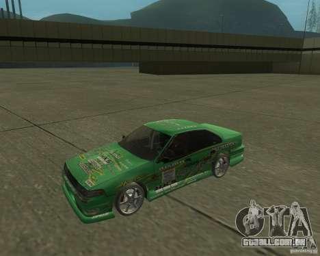 Nissan Cefiro A31 (D1GP) para GTA San Andreas traseira esquerda vista