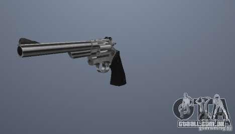 K.44 Magnum (Chrome) para GTA San Andreas