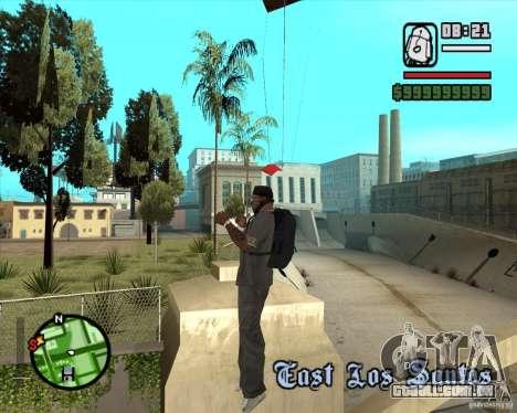 School mod para GTA San Andreas por diante tela