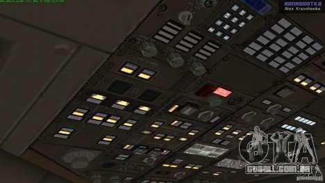 Boeing 757-200 Final Version para GTA San Andreas vista traseira