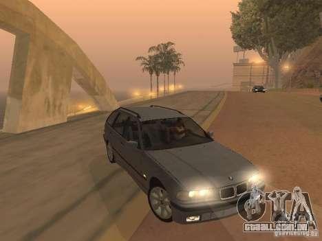 BMW 318 Touring para GTA San Andreas traseira esquerda vista