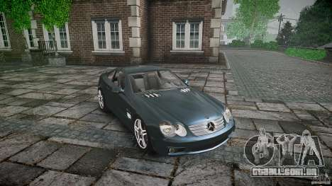 Mercedes Benz SL65 AMG V1.1 para GTA 4 vista interior