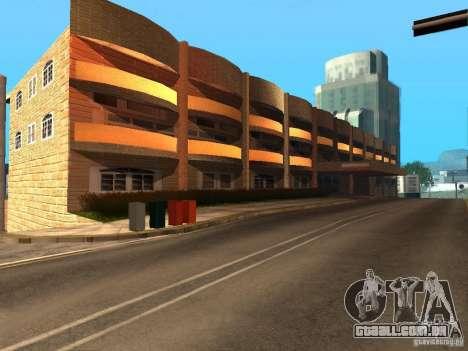 Nova rua Mullholland-novo Mulholland para GTA San Andreas segunda tela
