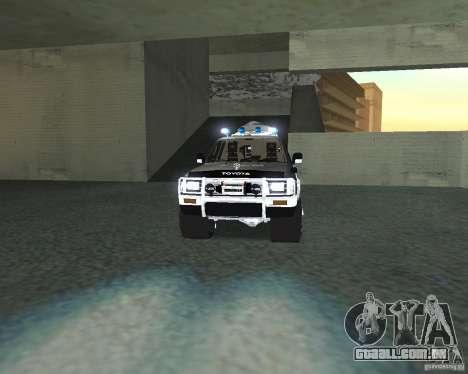Toyota Surf v2.1 para GTA San Andreas vista interior
