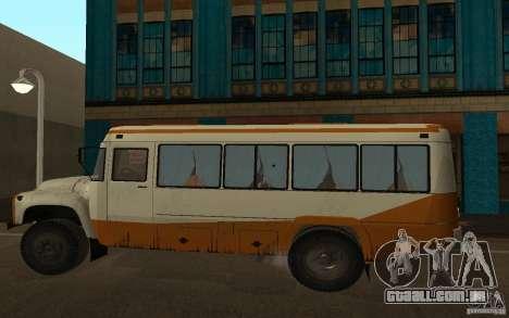 Kavz 3976 KAVZOZIL para GTA San Andreas esquerda vista