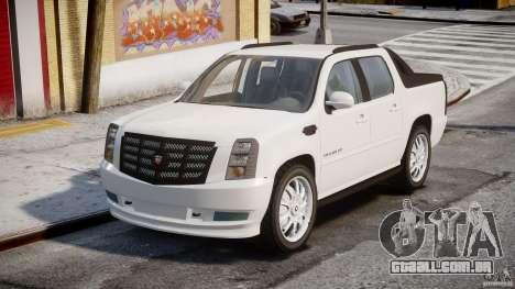 Cadillac Escalade Ext para GTA 4 vista direita