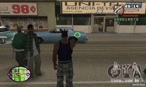 Nova vista para GTA San Andreas sétima tela
