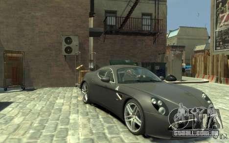 Alfa Romeo 8C Competizione v1 para GTA 4 vista de volta