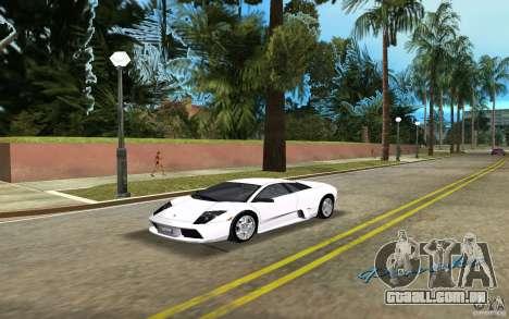 Lamborghini Murcielago V12 6,2L para GTA Vice City