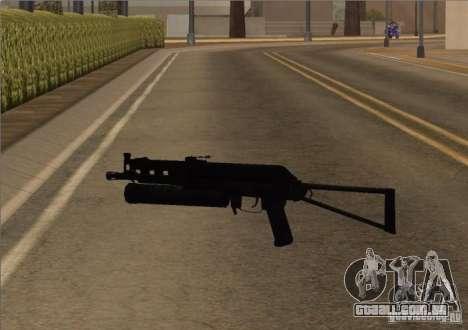Pak domésticos armas versão 6 para GTA San Andreas segunda tela
