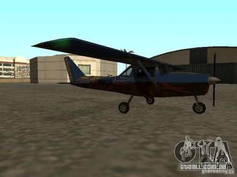 Um novo avião-Dodo para GTA San Andreas esquerda vista