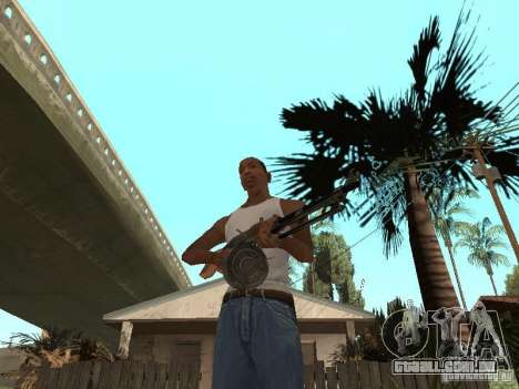 Light Machine Gun Dâgterëva para GTA San Andreas segunda tela