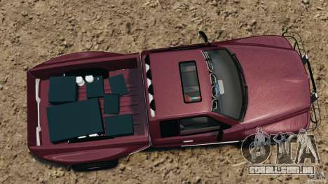 Dodge Ram 2500 Army 1994 v1.1 para GTA 4 vista direita
