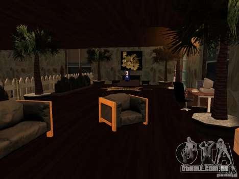 Clube sobre a água para GTA San Andreas por diante tela