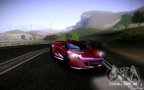 Hennessey Venom GT 2010 V1.0 para GTA San Andreas traseira esquerda vista