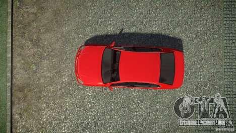 Toyota Aristo para GTA 4 vista de volta