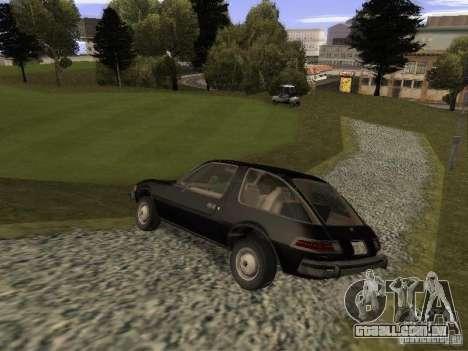 AMC Pacer para GTA San Andreas esquerda vista