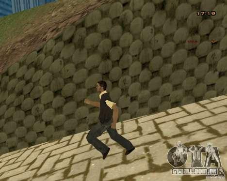 Novas animações para GTA San Andreas quinto tela