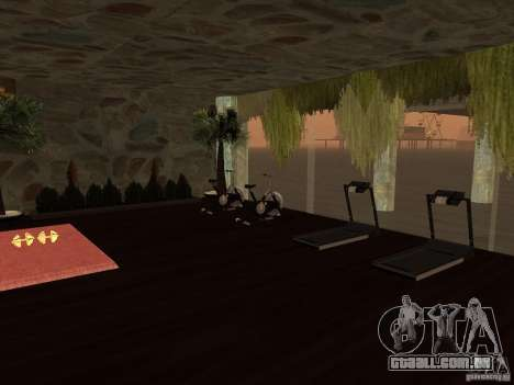 Clube sobre a água para GTA San Andreas quinto tela