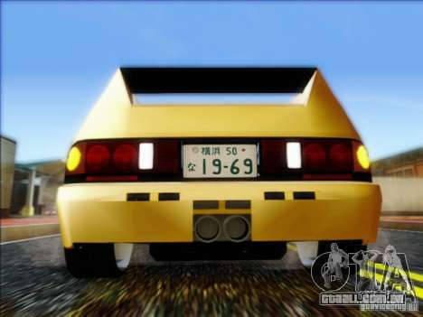 Diablo-Seven para GTA San Andreas vista direita