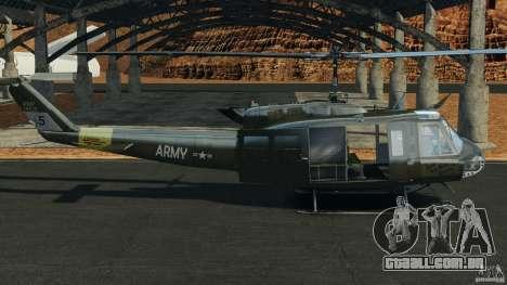 Bell UH-1 Iroquois para GTA 4 esquerda vista