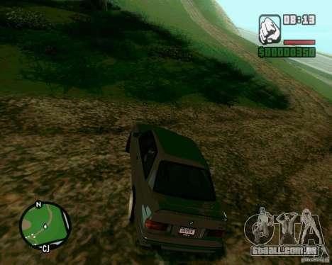 BMW M3 E30 Sport Evolution para GTA San Andreas esquerda vista
