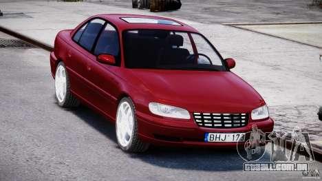 Opel Omega 1996 V2.0 First Public para GTA 4 vista de volta
