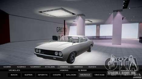 Auto Show 1.0.0 para GTA 4 terceira tela
