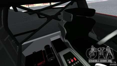 Mercedes-Benz SLS AMG GT3 2011 v1.0 para GTA 4 vista interior