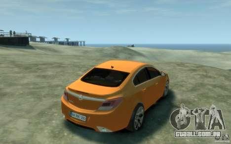 Opel Insignia OPC 2010 para GTA 4 vista direita