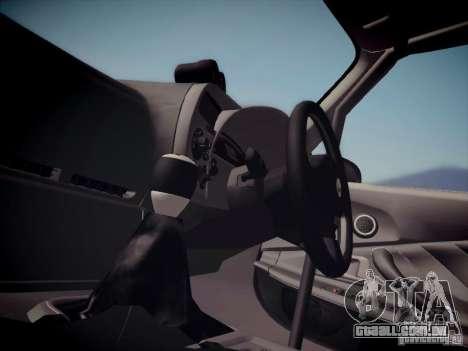 Honda S2000 JDM Dirft para GTA San Andreas vista traseira