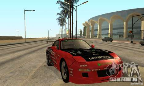 Mazda RX-7 FD3S para GTA San Andreas vista traseira