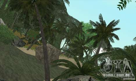 Ilha tropical para GTA San Andreas terceira tela