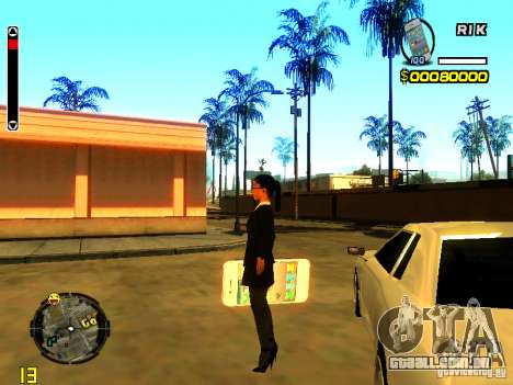 IPhone Granada v1 para GTA San Andreas