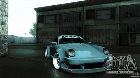 Porsche 911 Turbo RWB DS para GTA San Andreas vista direita