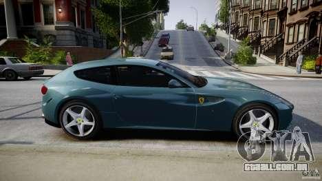 Ferrari FF 2012 para GTA 4 vista lateral