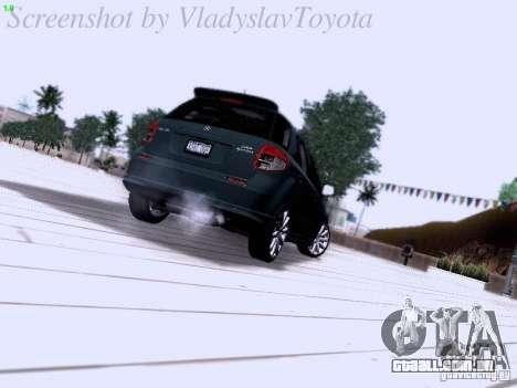 Suzuki SX4 Sportback 2011 para GTA San Andreas vista direita