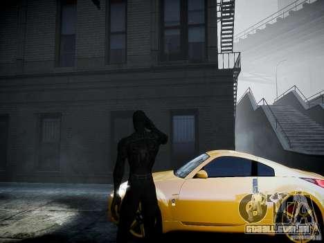 Spider Man Black Suit para GTA 4 segundo screenshot
