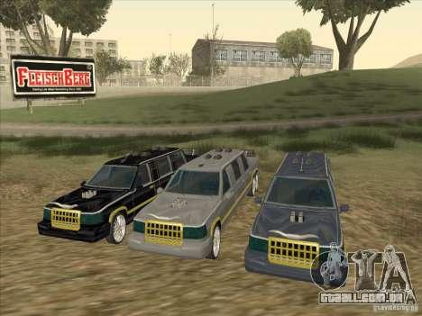 Limousine para GTA San Andreas