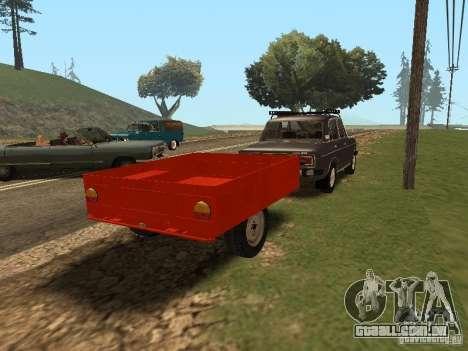 MMW 81021 para GTA San Andreas traseira esquerda vista