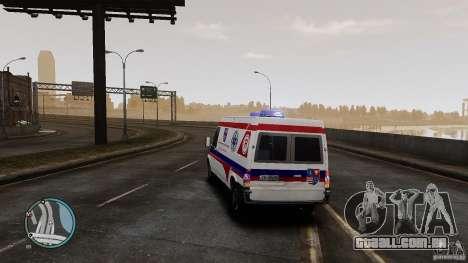 Ford Transit Ambulance para GTA 4 vista direita