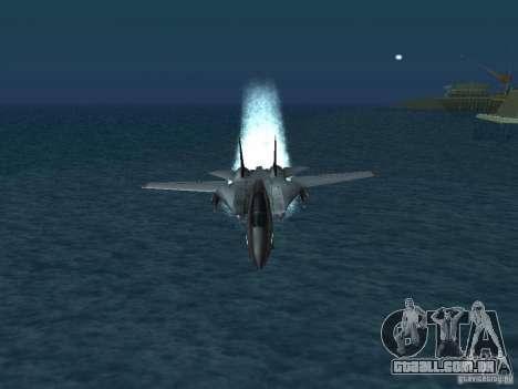 F-14 para GTA San Andreas vista direita