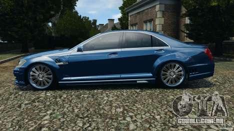 Mercedes-Benz S W221 Wald Black Bison Edition para GTA 4 esquerda vista