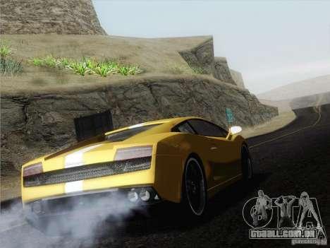 Lamborghini Gallardo LP640 Vallentino Balboni para GTA San Andreas esquerda vista