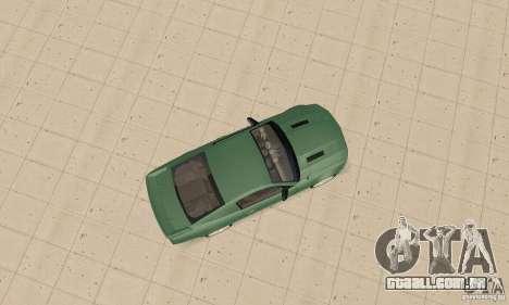 Saleen S281 v2 para GTA San Andreas vista traseira