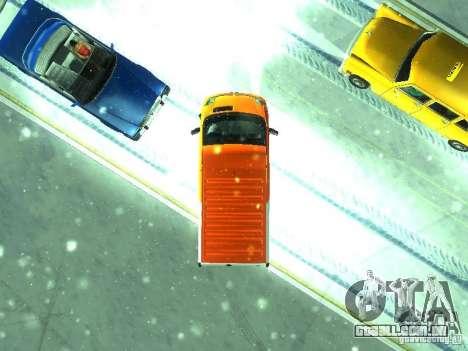 Vauxhall Vivaro v1.1 TNT para GTA San Andreas vista traseira