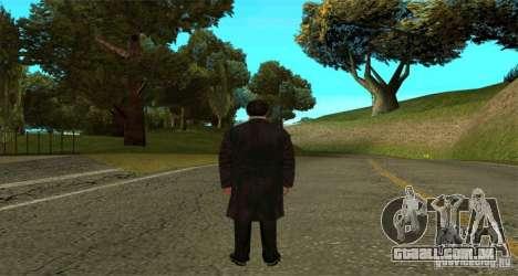 Vito Corleone para GTA San Andreas segunda tela