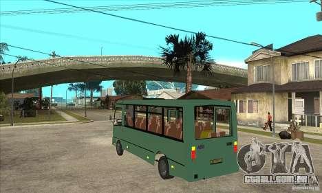 SULCO 3203 para GTA San Andreas traseira esquerda vista