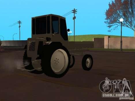 Trator T16M para GTA San Andreas vista direita